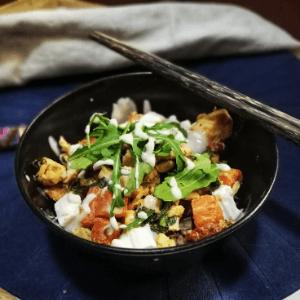 Pohankový bowl