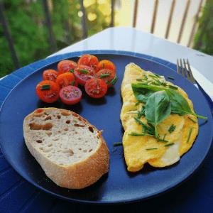 Vaječná tortilla