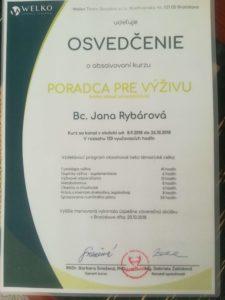 certifikát winstitut janka