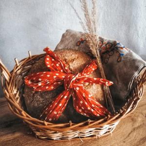 kváskový pšenično-ražný chlieb